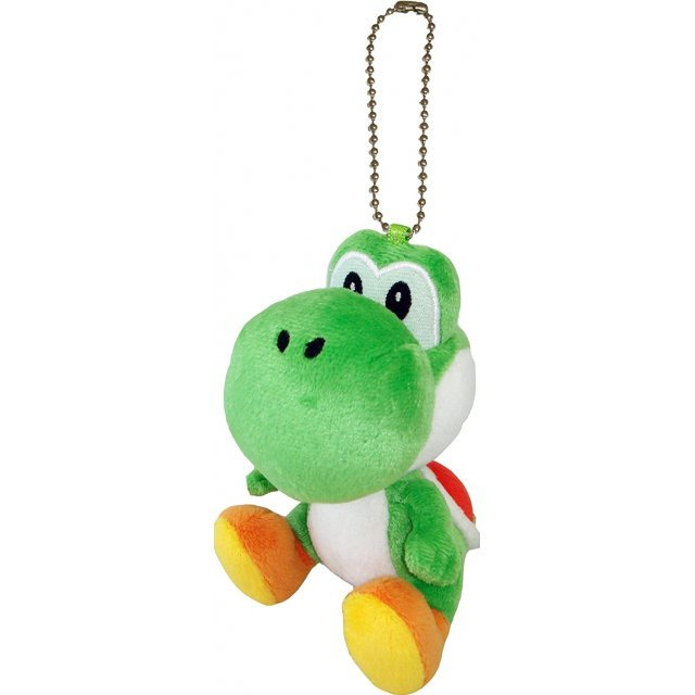 Super Mario Plush Series Plush Doll: Yoshi Mascot