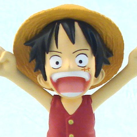 One Piece World Collectable Pre-Painted PVC Figure vol.7: TV049 -  Monkey D. Luffy