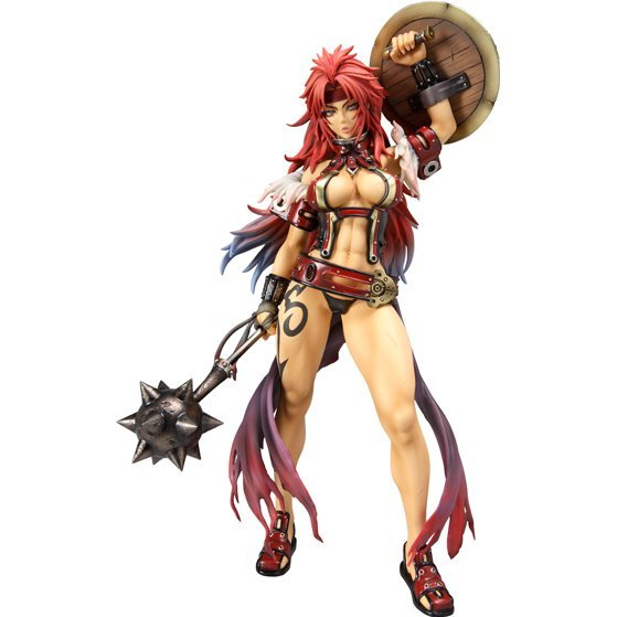 Excellent Model Limited Queens Blade 1/8 Scale Pre-Painted PVC Figure: Risty 2P Color ver.
