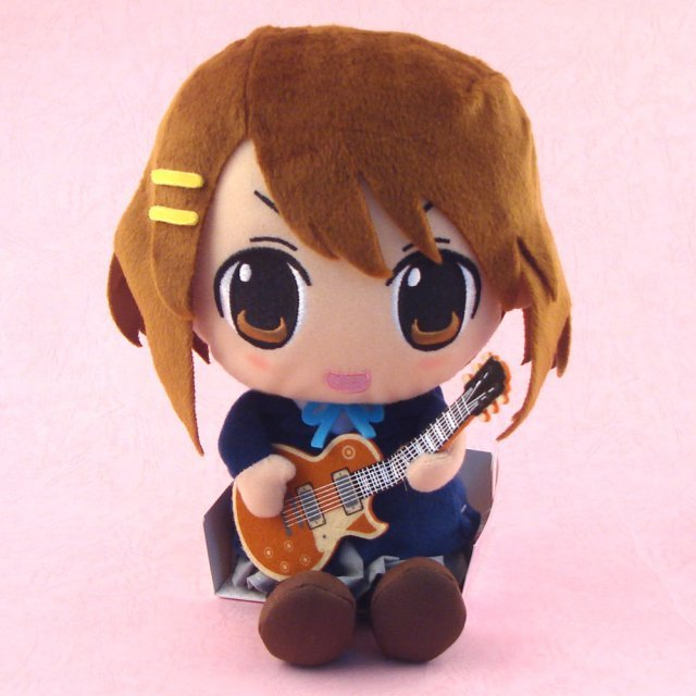 K-ON! Plush Doll: Hirasawa Yui (Dancing Ver.)