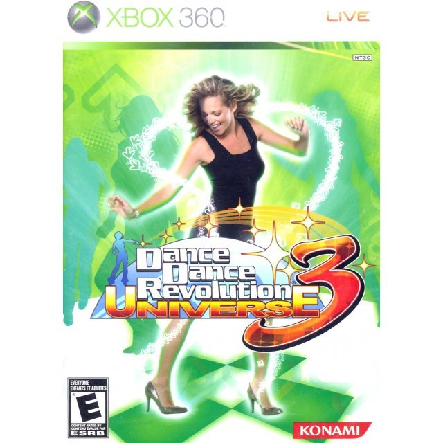 Dance Dance Revolution Universe 3 (taken from bundle)