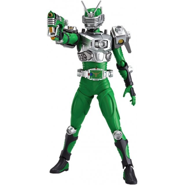 Kamen Rider Dragon Knight Non Scale Pre-Painted PVC Figure: figma Torque