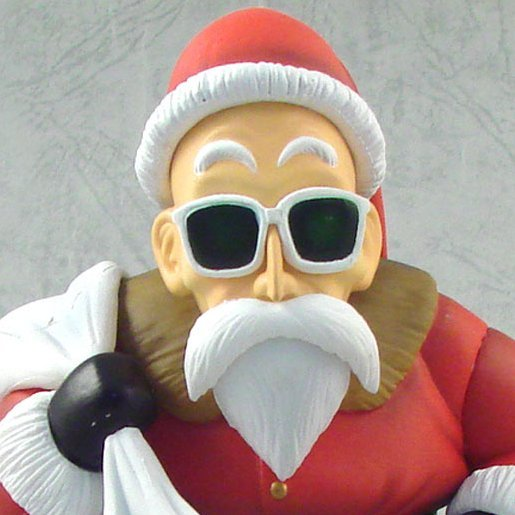 Dragon Ball Kai x One Piece DX Pre-Painted PVC Figure: Kame Sen-nin  Santa Claus Ver.
