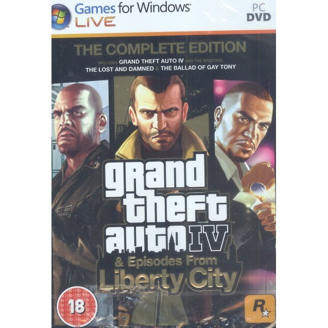 Grand Theft Auto IV: The Complete Edition (DVD-ROM)