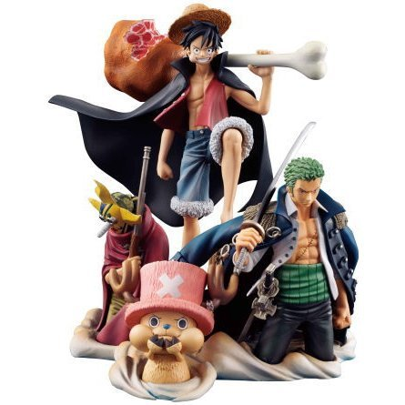 One Piece Desktop Real McCoy Pre-Painted Statue 01