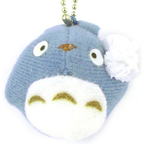 Sun Arrow Tonari no Totoro Mascot Key Chain: Totoro Blue Ver.