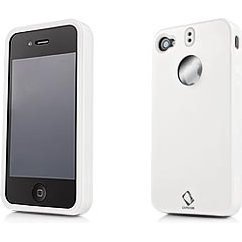 Capdase Polished Polimor iPhone 4 Protective Case (White)