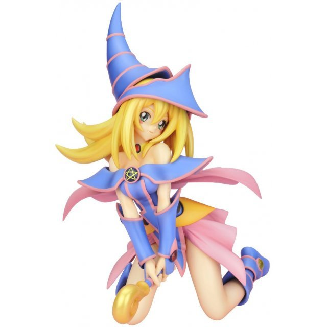 Yu-Gi-Oh! Duel Monsters 1/7 Scale Pre-Painted Figure: Black Magician Girl (Re-run)