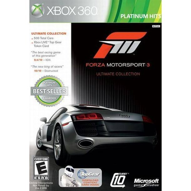 Forza Motorsport 3 (Ultimate Collection) (Platinum Hits)