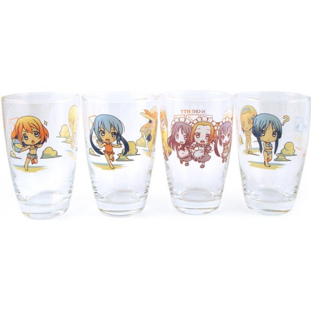 K-On! Ichiban Kuji Glass Asst