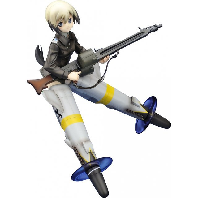 Strike Witches 1/8 Pre-Painted PVC Figure: Erica Hartmann (Re-run)