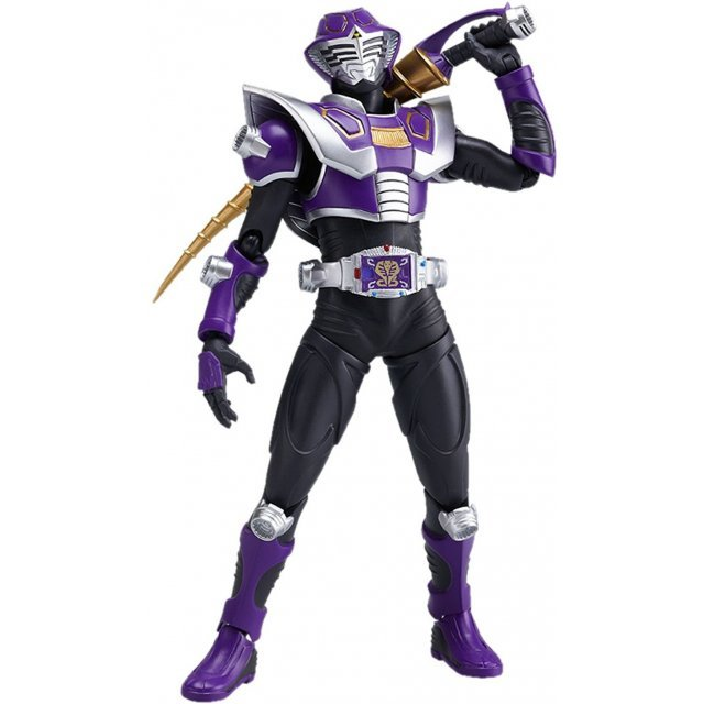 Kamen Rider Dragon Knight Non Scale Pre-Painted PVC Figure: figma Kamen Rider Strike