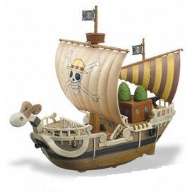 One Piece Non Scale Pre-Painted Figure: Going Merry - 	Memories of Merry Ship Ver. 2