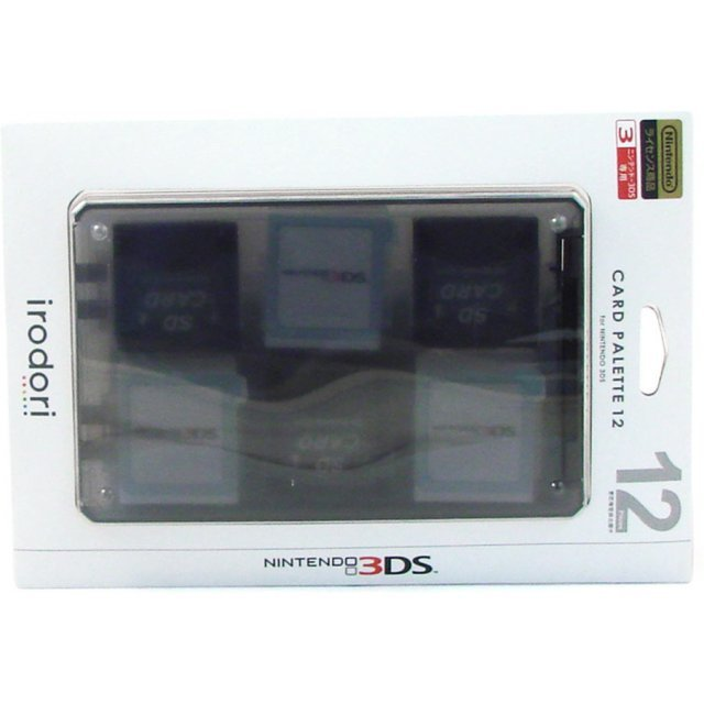 Card Palette 12 3DS (black)