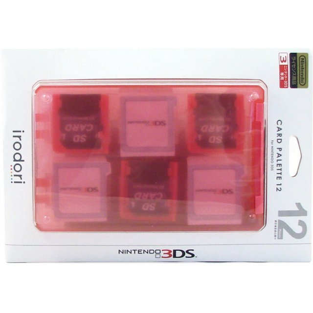 Card Palette 12 3DS (pink)