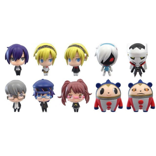 Game Characters Mini Collection Persona 3 & Persona 4  Pre-Painted Trading Figure