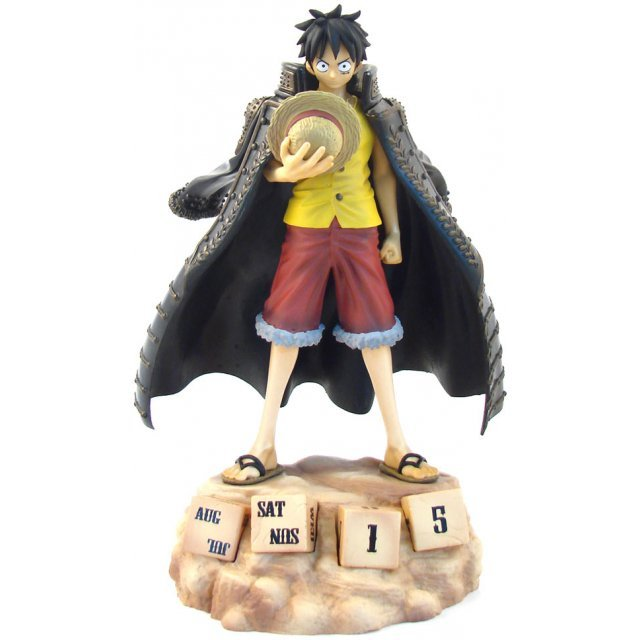 One Piece  Eternal Calendar Non Scale Pre-Painted PVC Figure : Luffy
