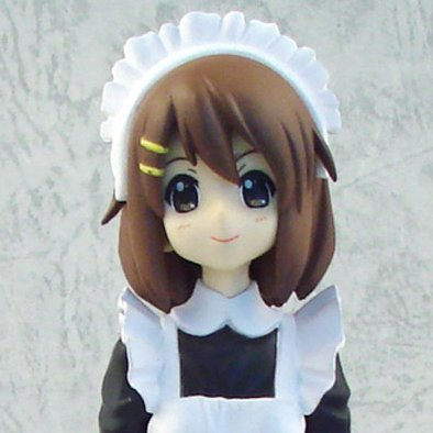 K-On! Maid Ver. 3 Pre-Painted PVC Figure: Hirasawa Yui