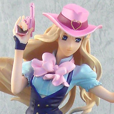Macross Frontier Non Scale Pre-Painted Figure: Sheryl Nome Cowgirl Ver.