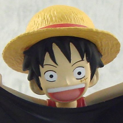 One Piece World Collectable Pre-Painted PVC Figure vol.9: TV066 - Luffy