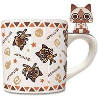 Monster Hunter Mascot Mug Cup: Airou