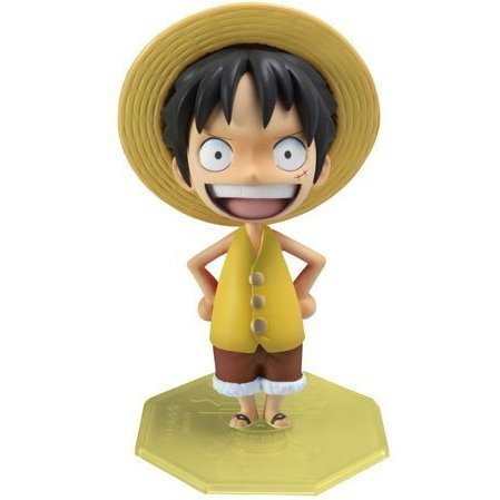 Excellent Model Limited Portraits of Pirates P.O.P.  Non Scale Pre-Painted PVC Figure: Luffy Marineford Ver.