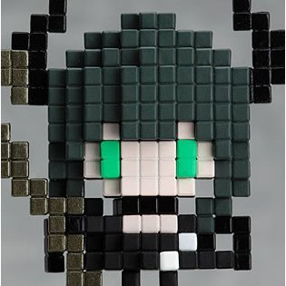 Black Rock Shooter Pre-Painted PVC Figure: Pixtone Dead Master