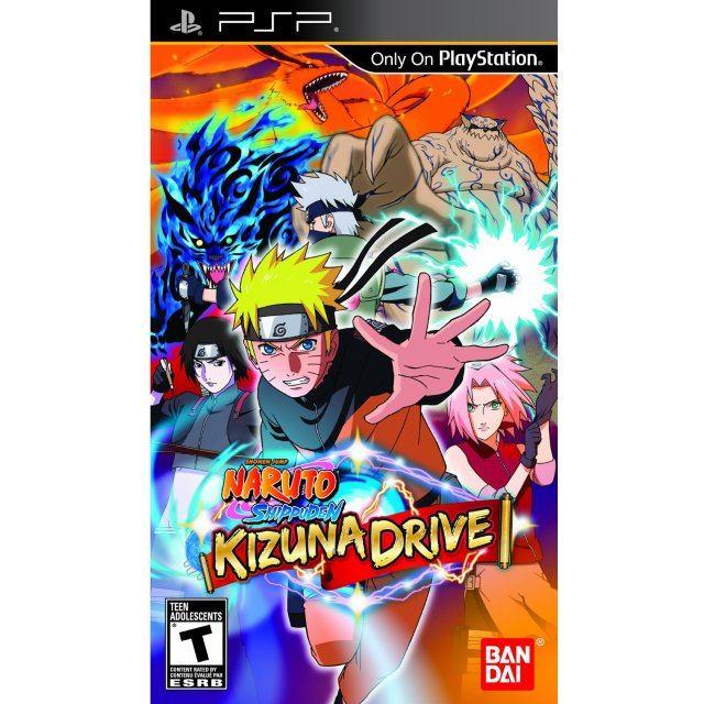 Naruto Shippuden: Kizuna Drive (PSP