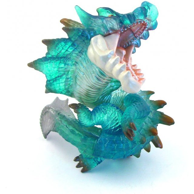 Banpresto Monster Hunter Key Chain Mini Figure Special Clear Ver: Lagiacrus
