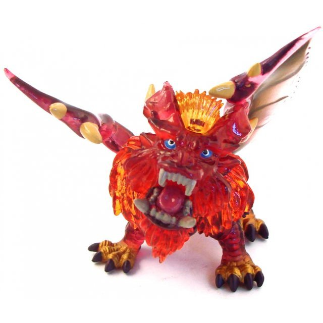 Banpresto Monster Hunter Key Chain Mini Figure Special Clear Ver: Teostra