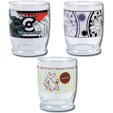 Pokemon Best Wishes Ichiban Kuji Glass Asst