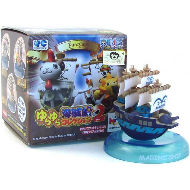 Mega House One Piece Pirate Ship Yura Yura Collection Vol. 2 Pre-Painted Trading Figure
