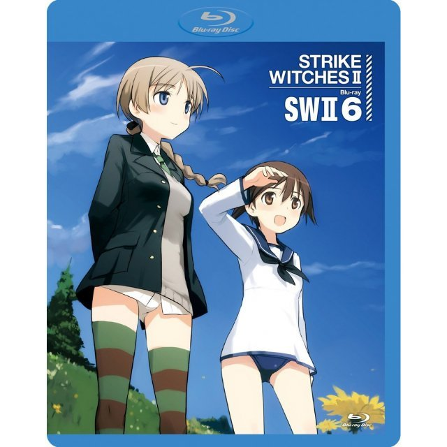 Strike Witches 2 Vol.6 [Blu-ray+CD Limited Edition]
