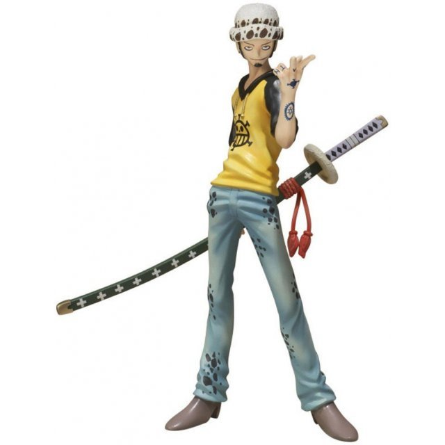 One Piece Figuarts Zero Pre-Painted PVC Figure: Trafalgar Law