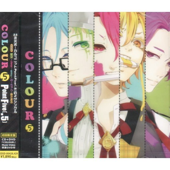 Colour [CD+DVD Limited Edition]