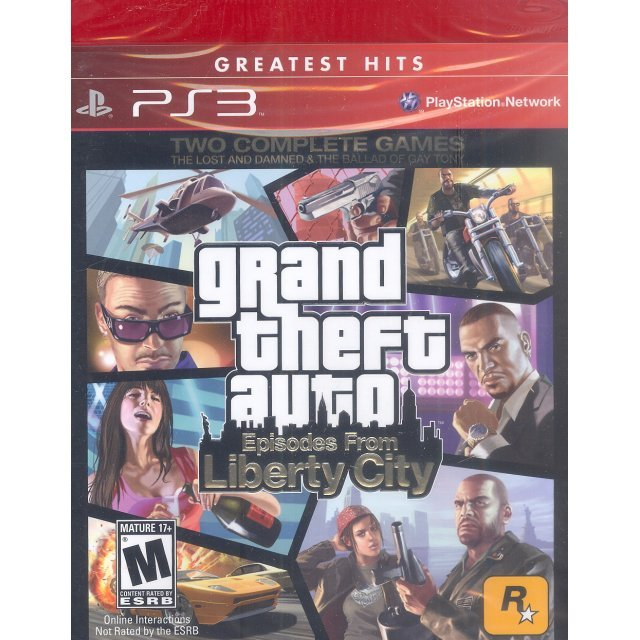 Grand Theft Auto: Episodes from Liberty City (Greatest Hits)