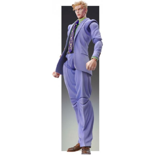 Super Figure JoJo's Bizarre Adventure Part 4 #26 Non Scale Pre-Painted PVC Figure: Yoshikage Kira 2nd (Hirohiko Araki Specify Color)