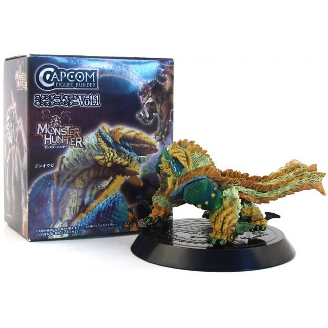 Monster Hunter Figure Builder Vol. 1 Pre-Painted PVC Trading Figure