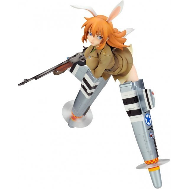 Strike Witches 1/8 Scale  Pre-Painted PVC Figure: Charlotte E Yeager (Re-run)