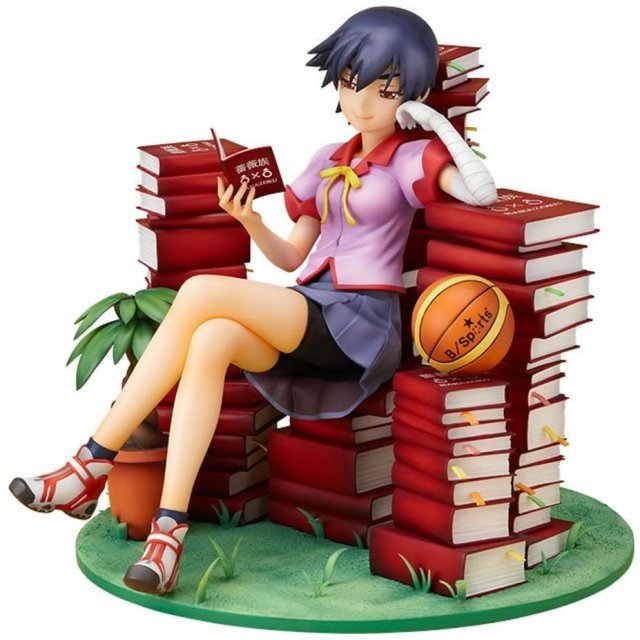 Bakemonogatari 1/8 Scale Pre-Painted PVC Figure: Kanbaru Suruga (Good Smile Ver.)