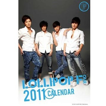 Lollipop F Calendar 2011