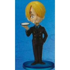 One Piece World Collectable Pre-Painted PVC Figure vol.10: TV076 - Sanji