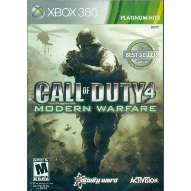 Call of Duty 4: Modern Warfare (Platinum Hits)