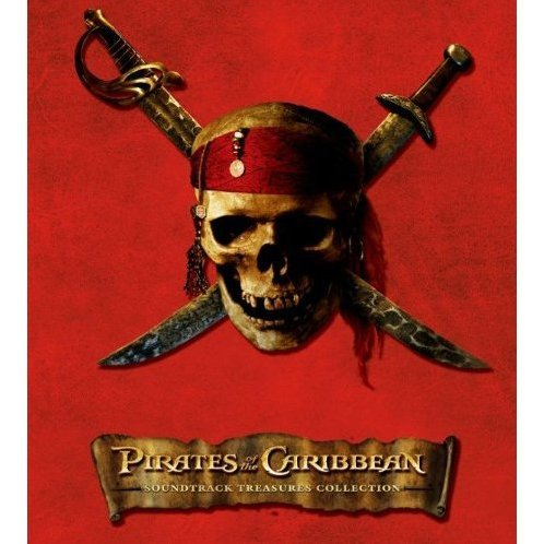 Pirates Of Caribbean Treasures Collection Original Soundtrack [CD+DVD Limited Edition]