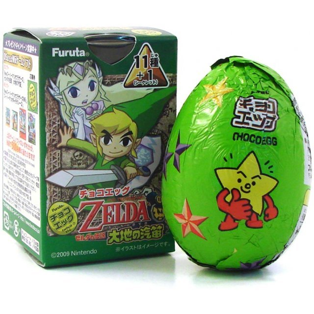 The Legend of Zelda Chocolate Egg Furuta Candy Toy