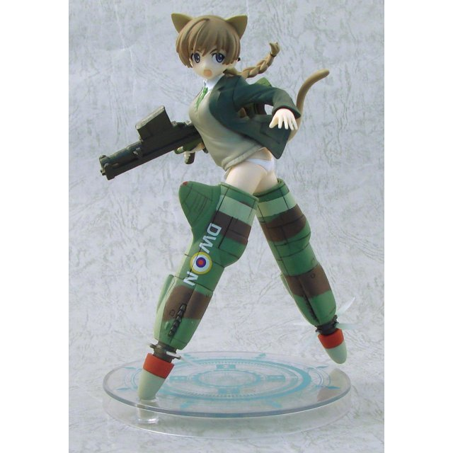 Strike Witches EX Non Scale Pre-Painted PVC Figure Vol.3: Lynette Bishop