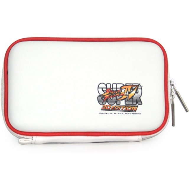 Super Street Fighter IV 3D Edition Pouch 3DS (White)