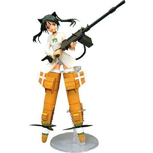 Strike Witches Non Scale Pre-Painted High Quality PVC Figure: Francesca Lucchini