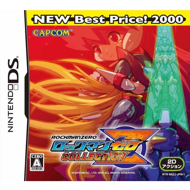 RockMan Zero Collection (NEW Best Price! 2000)