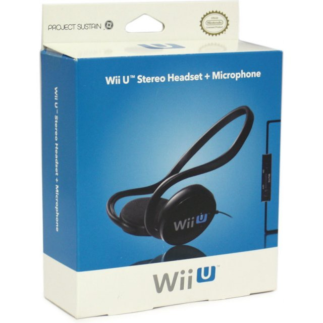 4Gamers Stereo Chat Headset (Wii U) Neckband Version